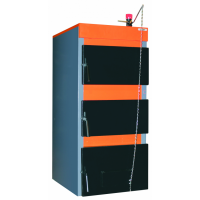 Котел стальной газовый водогрейный КС-ТВ-12р с регулятором тяги Honeywell