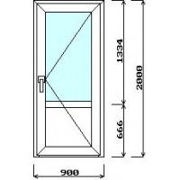 Дверь входная 900мм*2000мм (с установкой)