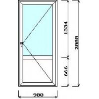 Дверь межкомнатная 900мм*2000мм (с установкой)