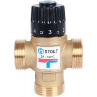 Клапаны смесительные термостатические STOUT