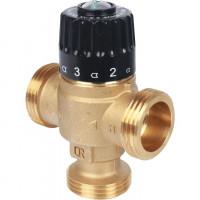 """Термостатический смесительный клапан для систем отопления и ГВС STOUT 1 1/4"""" НР 30-65°С KV 3,5"""