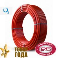 Труба из сшитого полиэтилена TiM красная 16мм (D16)
