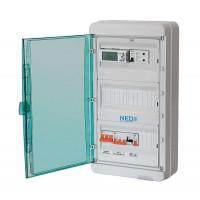 Щит управления приточно-вытяжной вентиляцией с водяным калорифером ЩУВ 1В1-ПН115-ВН115